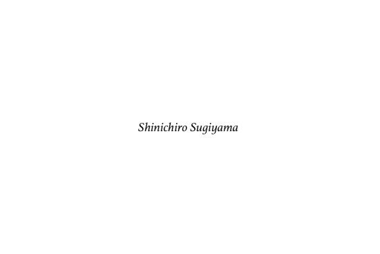 Shinichiro sugiyama